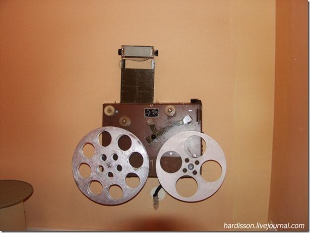 Машинка для перемотки кинопленки