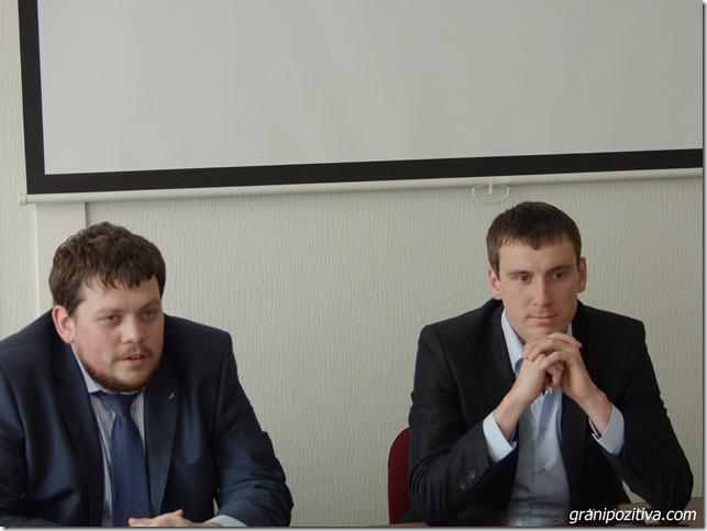 Евгений Фридман и Евгений Мартюшев в Чайковском