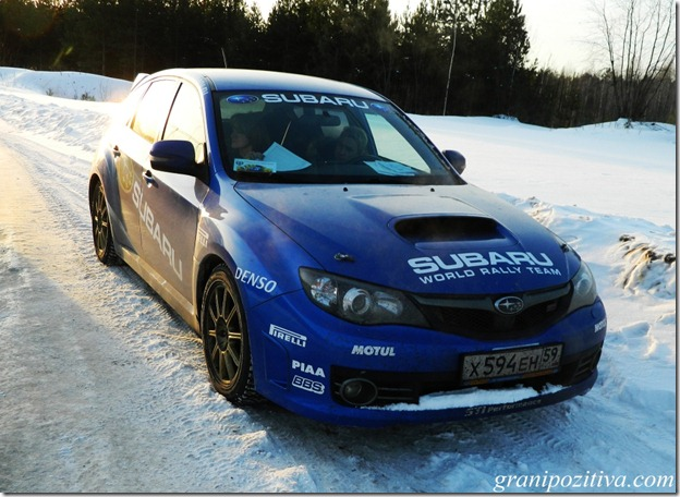 Фото раллийной Subaru