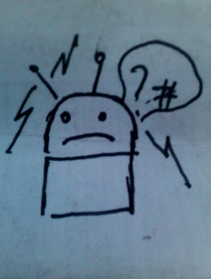 Рисунок андроида
