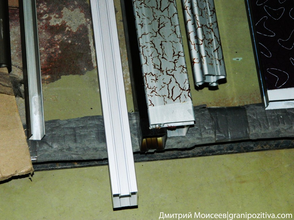 Алюминиевый профиль обклеенный пленкой на заводе найди в ижевске