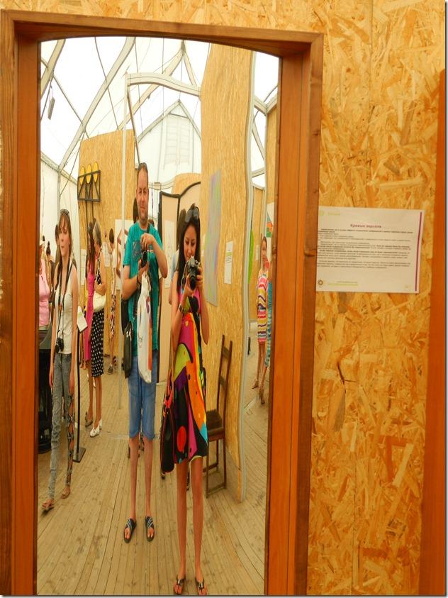 кривые зеркала в эксперементариуме Фестиваля Белые Ночи в Перми