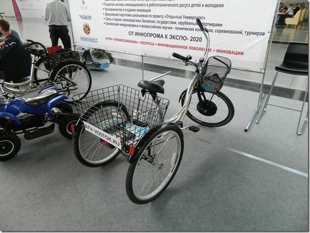 Трехколесный велосипед на Иннопроме