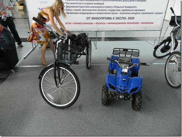 транспортные средства на мускульной тяге на Иннопроме