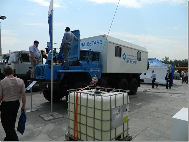 Автомобили на метане на Иннопроме
