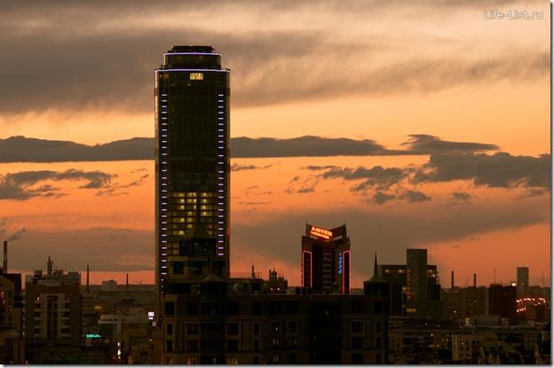 Бизнес центр Высоцкий в Екатеринбурге