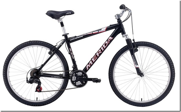 Велосипед с передним амортизатором MERIDA