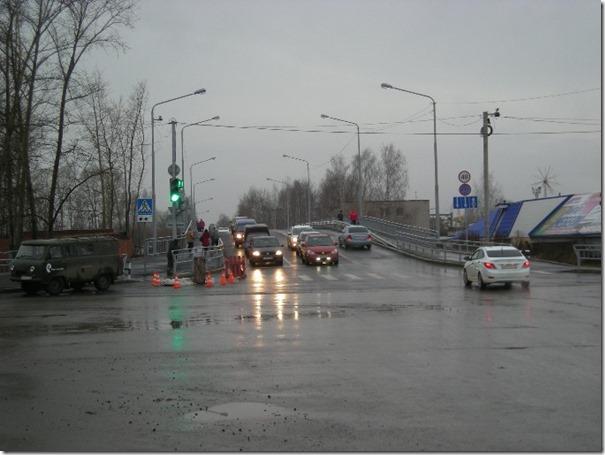 Горбатый мост город Чайковский фото