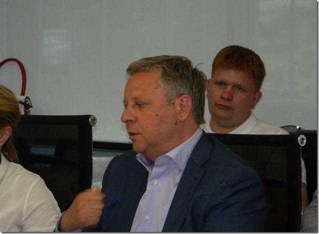 Генеральный директор компании Ростелеком Сергей Калугин