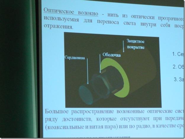 оптическая линия связи схема