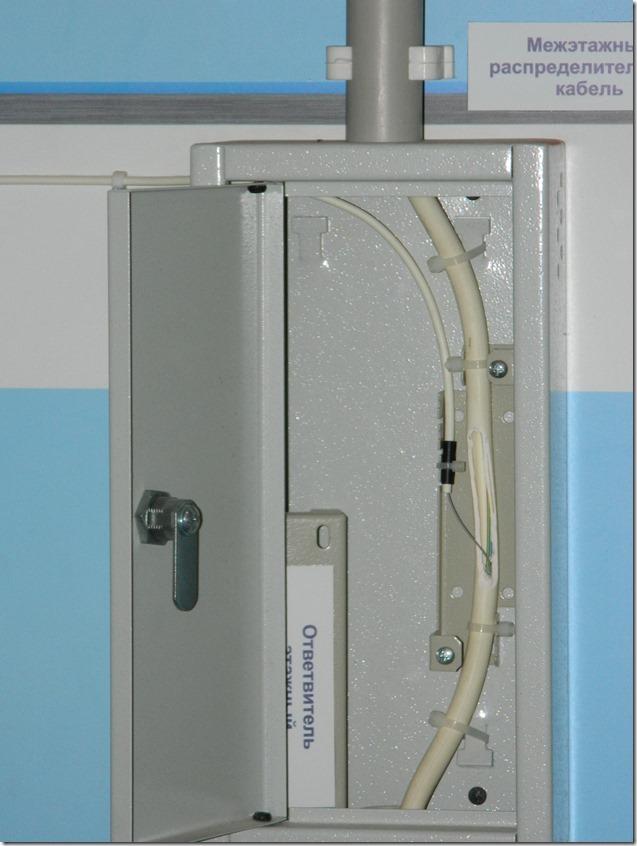 Ответвление оптоволокна на квартиру
