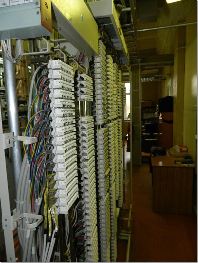 Шкаф связи АТС