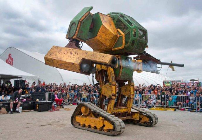 Американский боевой робот Megabot Mark 2