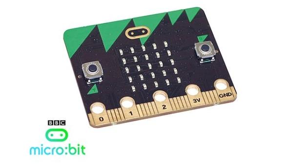 общий вид микрокомпьютера microbit