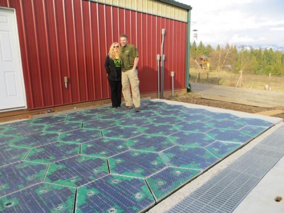 Изобретатели дорого из солнечных батарей