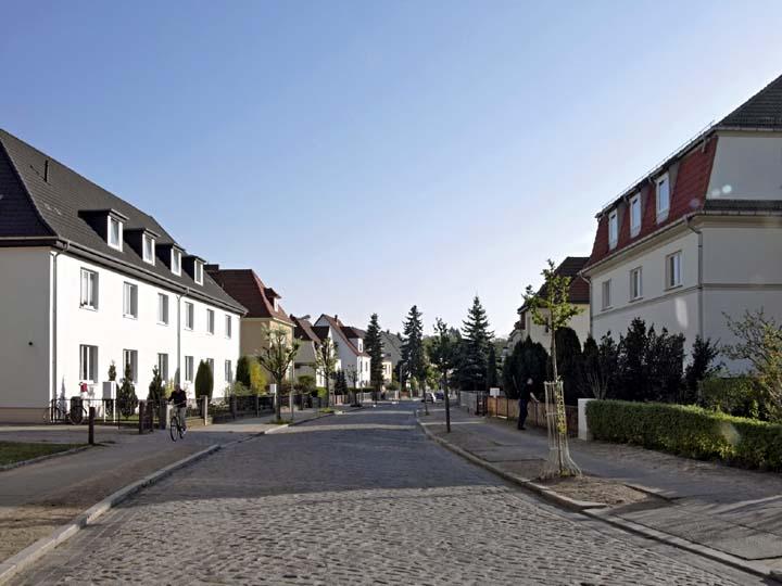 Улица в Нойштрелице
