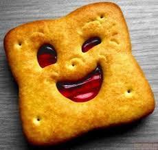 Печенька улыбается