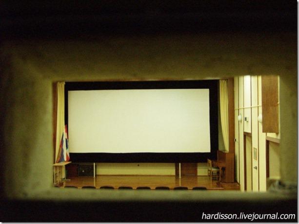 Экран в кинотеатре