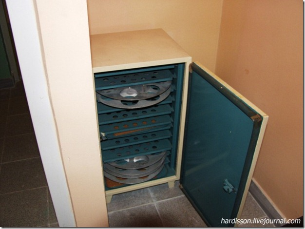 Шкаф для хранения кинопленки