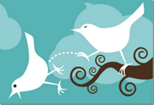 Одна птичка пинает другую