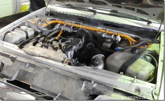 двигатель раллийной машины