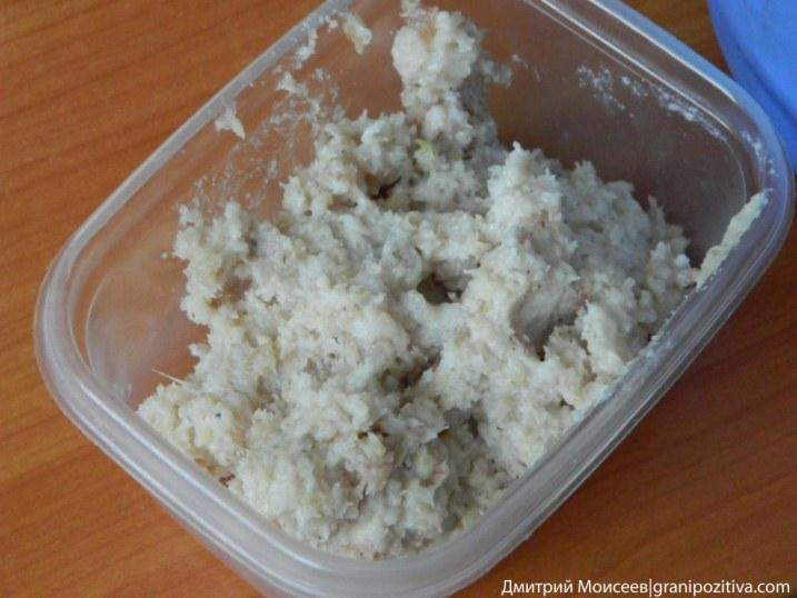Фоторецепт закуски из сала с чесноком