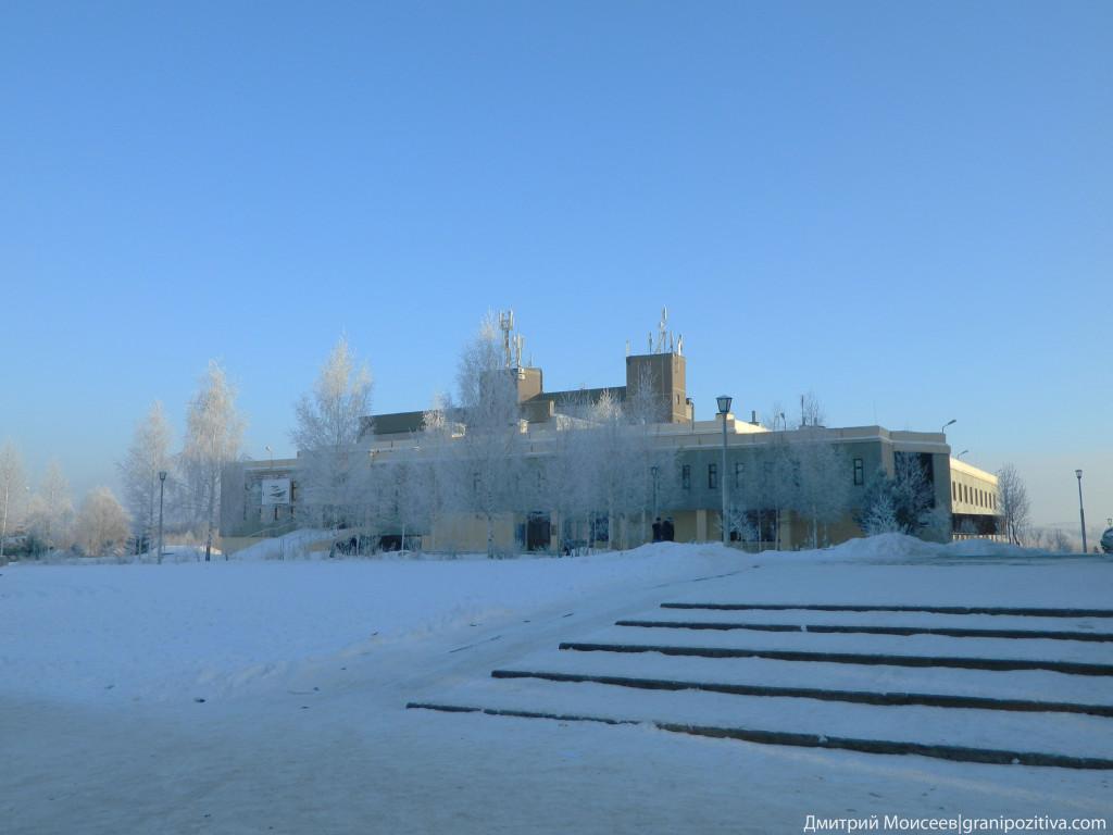 ГДО в поселке Марковский зимой