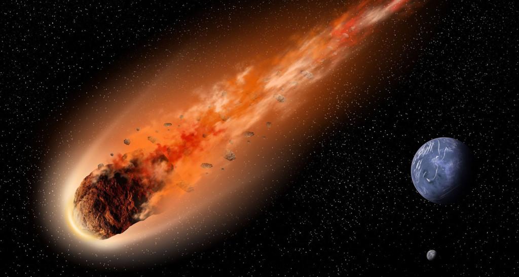 Огромный метеорит