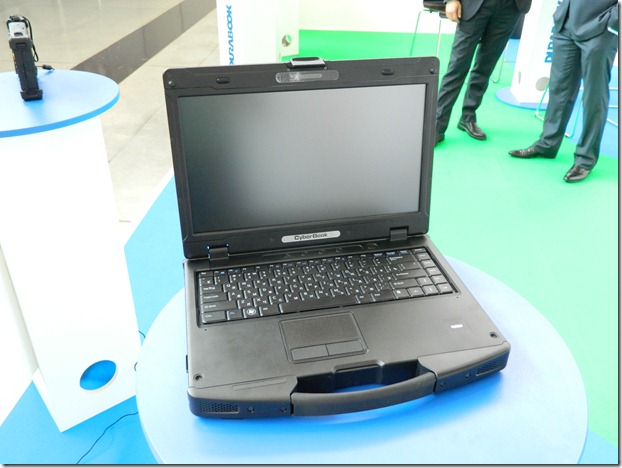 инженерный ударопрочный и влагозащищенный ноутбук на Иннопроме