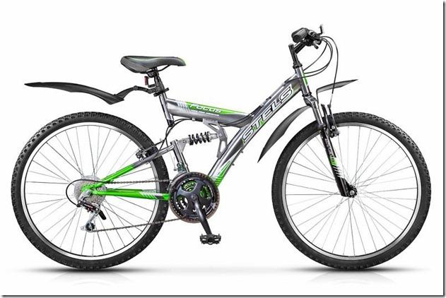 Двухподвесный велосипед Stels