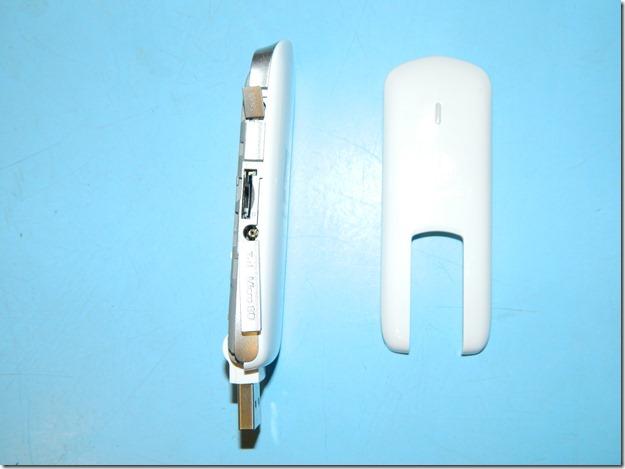 Внешний вид  в разобранном состоянии 4g модема м150-1 от Мегафона