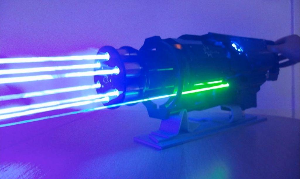 Лазерный машинган