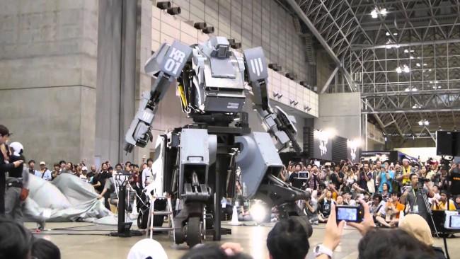 Японский боевой робот Suidobashi