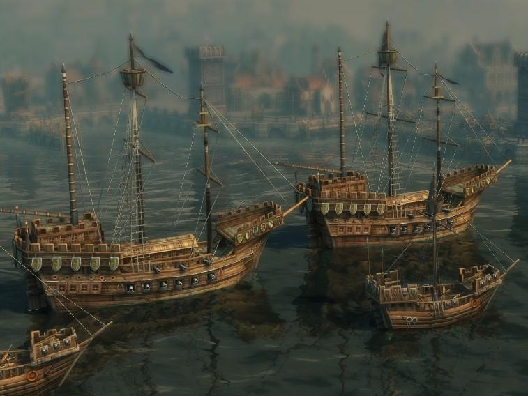 Несколько кораблей в онлайн игре