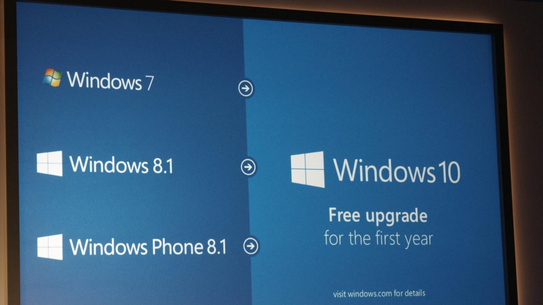 Экран обновления Windows 10