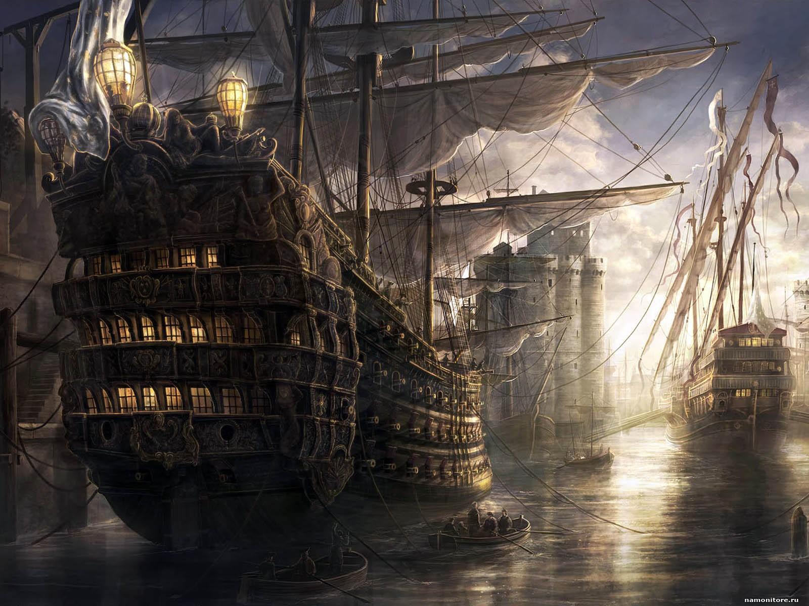 Компьютерная игра про корабли