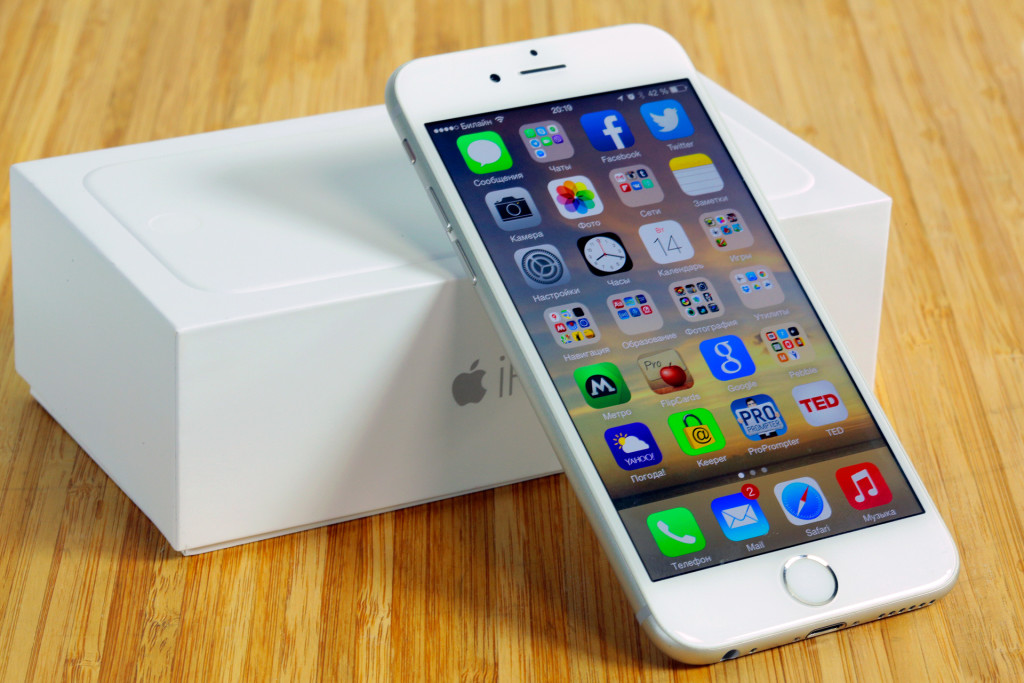 Iphone 6S с коробкой