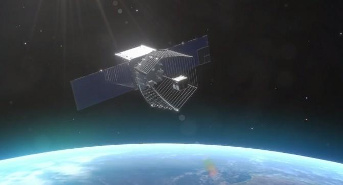 Швейцарский спутник Pac-man заглатывает космический мусор