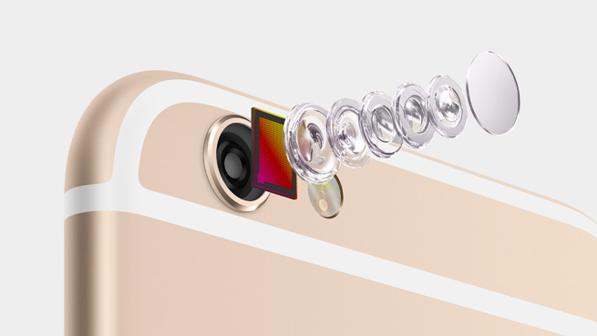 Камера нового Айфон 6S