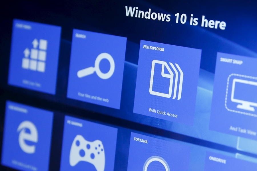 Windows 10 панель приложений